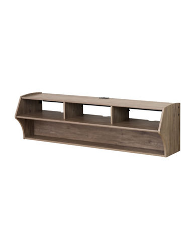 Prepac Altus Floating TV Stand-DRIFTED GREY-One Size