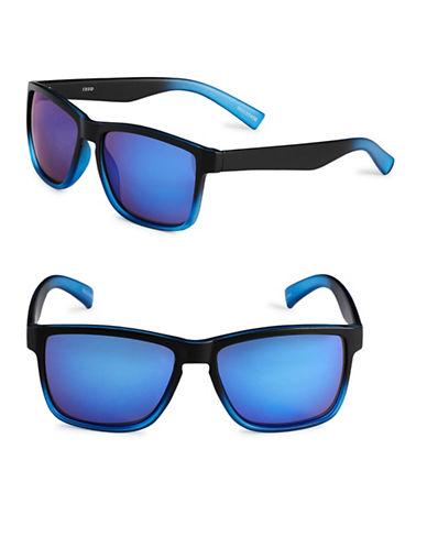 Izod 57mm Ombre Wayfarer Sunglasses-BLUE-One Size