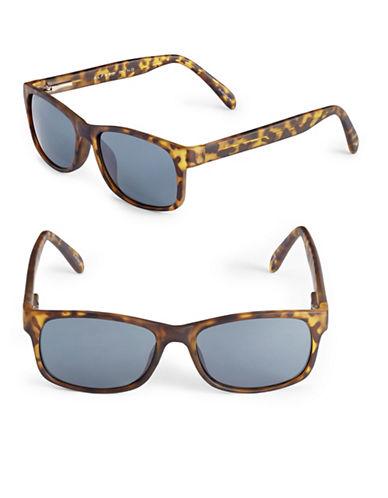 Alfred Sung 55mm Tortoiseshell Wayfarer Sunglasses-TORTOISE-One Size