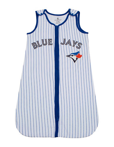 Snugabye MLB Toronto Blue Jays Pinstripe Sleep Bag-WHITE-6 Months