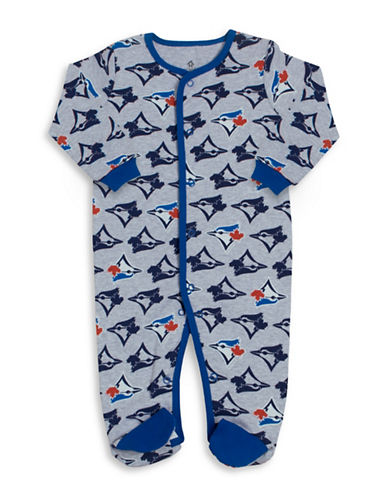 Snugabye MLB Toronto Blue Jays Cotton Footie-BLUE-3 Months