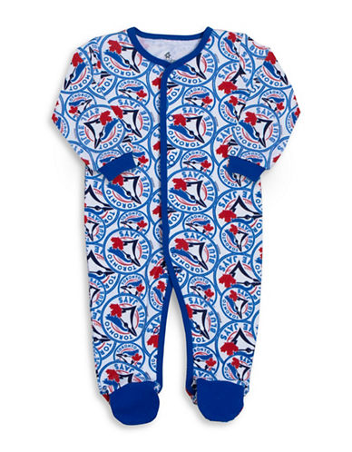 Snugabye MLB Toronto Blue Jays Cotton Footie-BLUE-9 Months