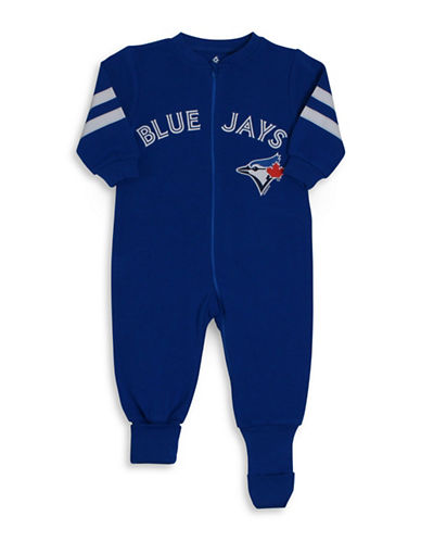 Snugabye MLB Toronto Blue Jays Logo Convert-A-Foot Cotton Footie-BLUE-18 Months