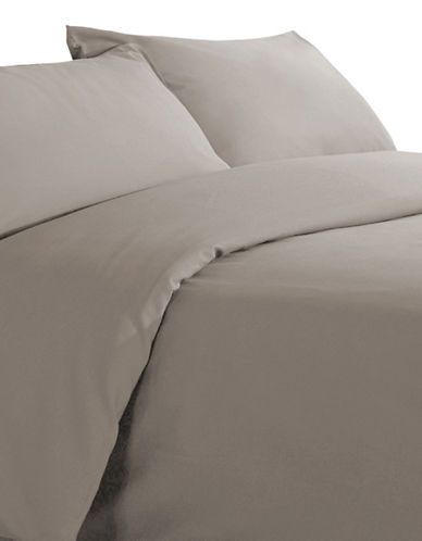 Millano Millano Spa Three-Piece Duvet Cover Set-BROWN-Double