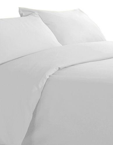 Millano Millano Spa Three-Piece Duvet Cover Set-WHITE-Double