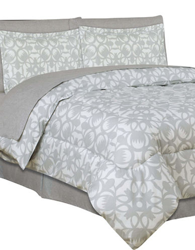 Life Style Linens Bianca Eight-Piece Comforter Set-MULTI-King 88346120_MULTI_King