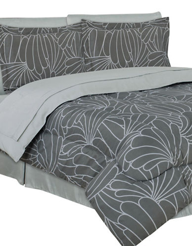Life Style Linens Carmen Eight-Piece Bed in a Bag-MULTI-King