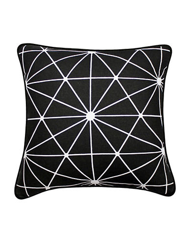 Starlight Square Decorative Cotton Throw Cushion by Milano Collection