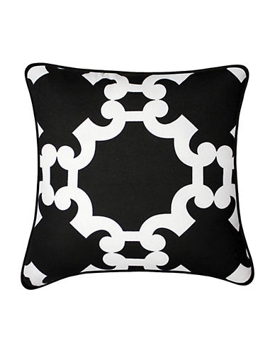 Rimrock Square Decorative Cotton Throw Cushion by Milano Collection