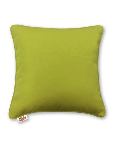 Millano Decorative Outdoor Throw Cushion-GREEN-One Size