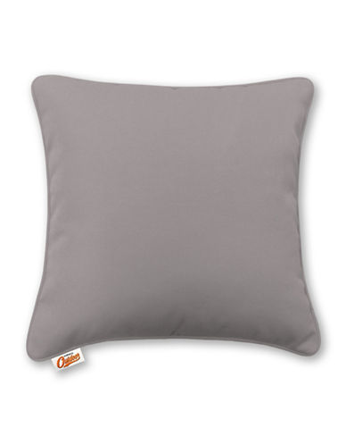 Millano Decorative Outdoor Throw Cushion-GREY-One Size