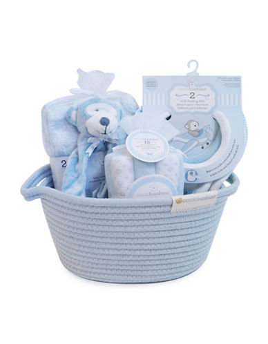 Piccolo Bambino 16-Piece Arrival Gift Set-BLUE-One Size