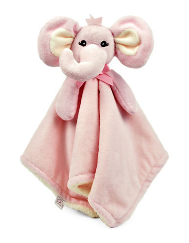 Piccolo Bambino Elephant Cuddly Pal Blanket-PINK-One Size