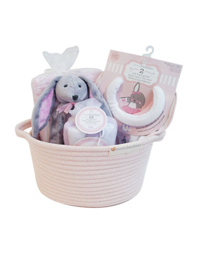 Piccolo Bambino 16-Piece Cotton Arrival Gift Set-PINK-One Size