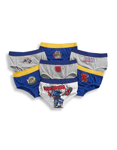 Disney Boys 2 to 7 Seven Pack Transformers Boys Underwear-ASSORTED-2T