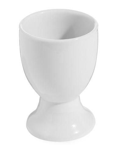 Kitchen Basics Porcelain Egg Cup-WHITE-One Size