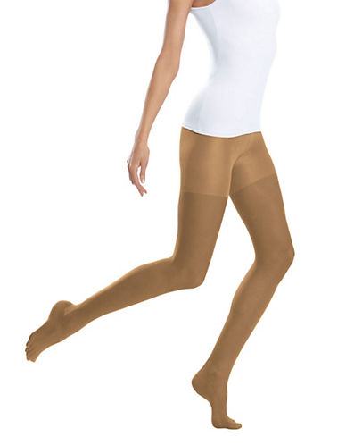 Jockey Sheerest Ever Control Top 15 D Sandalfoot-HONEY BEIGE-B