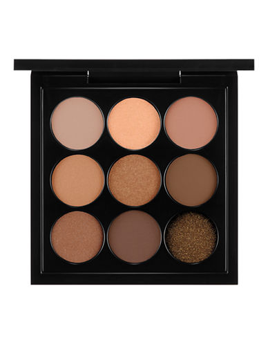 M.A.C Eye Shadow x 9: Amber Times Nine-AMBER-One Size