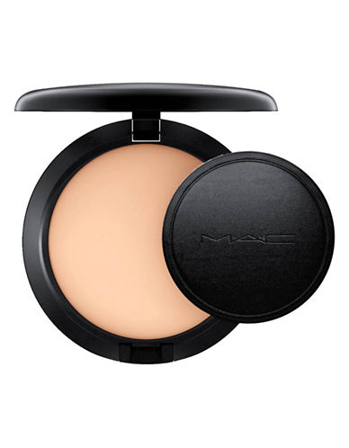 M.A.C Next to Nothing Pressed Powder-MEDIUM PLUS-One Size