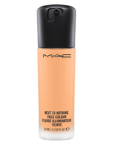 M.A.C Next to Nothing Face Colour-MEDIUM PLUS-One Size