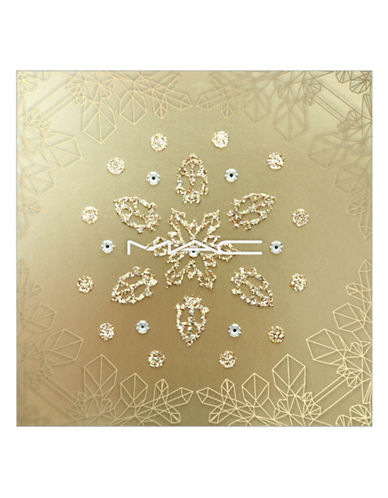 M.A.C Adornment Snowflake Festive Bling-GOLD GLITTER-One Size