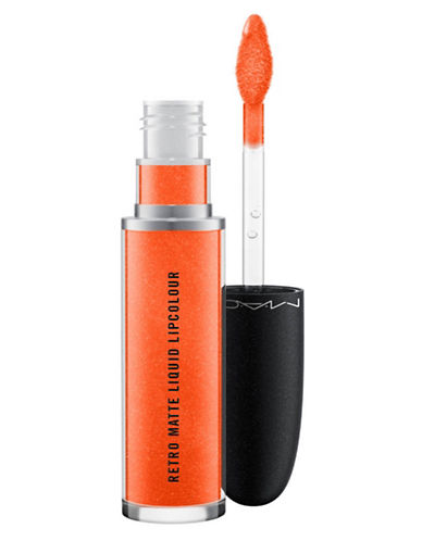 M.A.C Retro Matte Liquid Lipcolour-CORAL PLATED-One Size