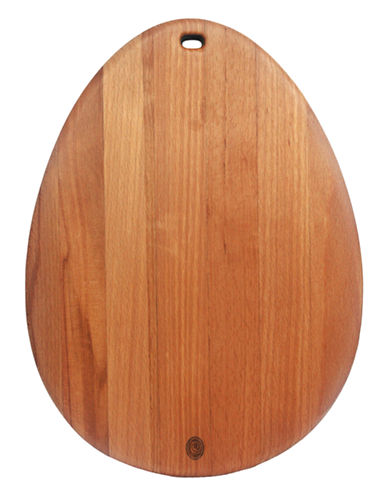 Costa Nova Egg Shape Charcuterie Board-LIGHT BROWN-One Size