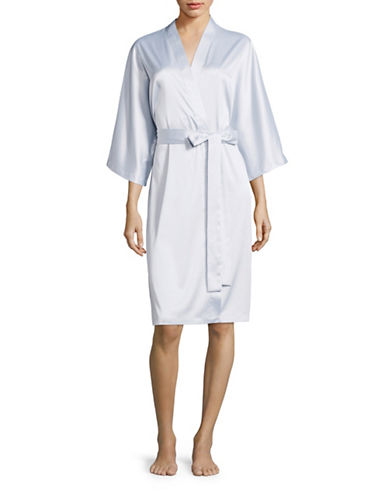 Morsam Fashions Kleinfeld Robe-GREY-One Size