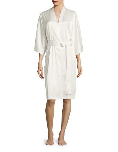 Morsam Fashions Kleinfeld Robe-IVORY-One Size