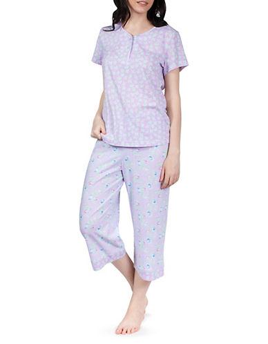 Jasmine Rose Two-Piece Floral Pajama Set 90069511