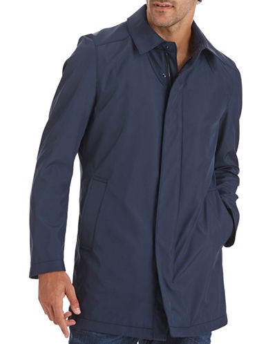 Strellson Fly Reloaded Car Coat-NAVY-40 plus size,  plus size fashion plus size appare