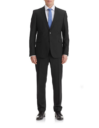 Strellson Allen Mercer Suit Set-BLACK-36