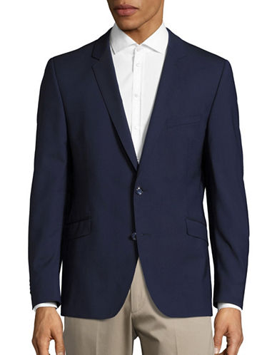 Strellson Gandy Slim-Fit Wool-Blend Sports Jacket-NAVY-46
