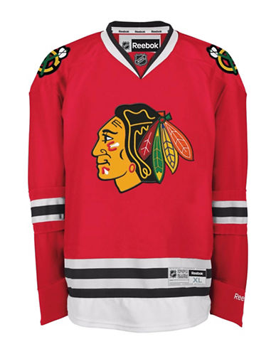 Reebok Chicago Blackhawks NHL Premier Home Jersey-RED-X-Large 88825907_RED_X-Large