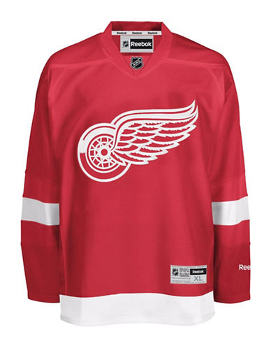 Reebok Detroit Red Wings NHL Premier Home Jersey-RED-X-Large