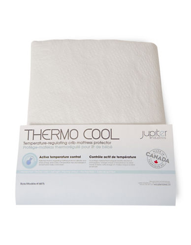 Jupiter ThermoCool Mattress Cover-WHITE-One Size