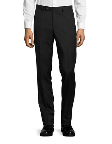 Ted Baker No Ordinary Joe Joey Wool Pants-BLACK-38 Regular