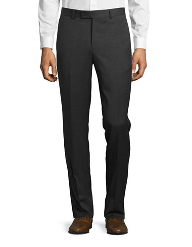 Ted Baker No Ordinary Joe Joey Wool Pants-GREY-36 Regular