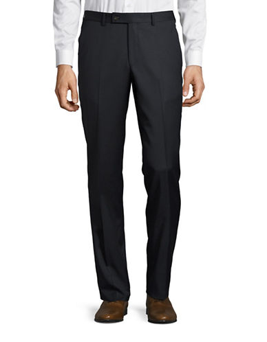 Ted Baker No Ordinary Joe Joey Wool Pants-BLUE-40 Regular