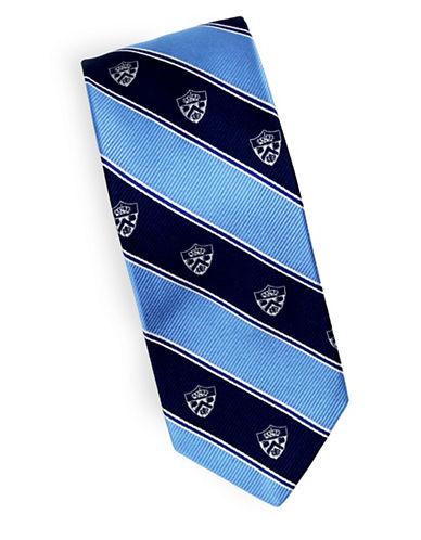 Linea In Crest Novelty Blazer Silk Tie-BLUE-One Size