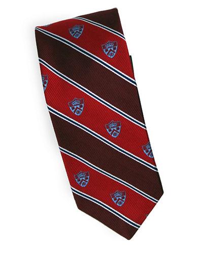 Linea In Crest Novelty Blazer Silk Tie-RED-One Size