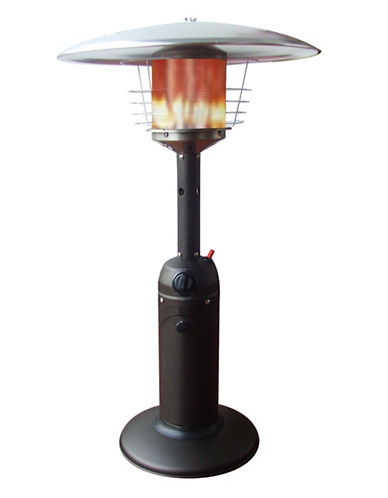 Jr Home Powder-Coated Steel Table Heater-MOCHA-One Size