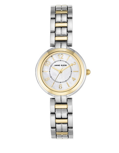 Anne Klein Silver and Goldtone Analog Watch-ASSORTED-One Size
