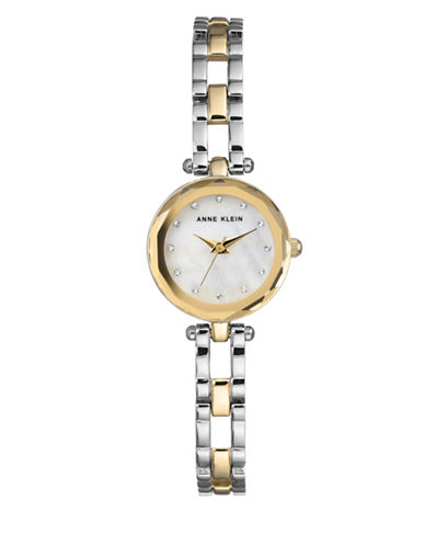 Anne Klein Twotone Analog Bracelet Watch-ASSORTED-One Size
