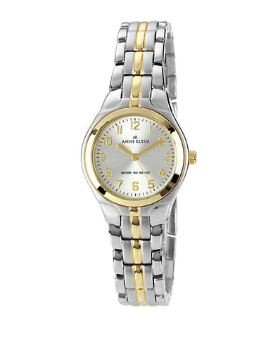 Anne Klein Two tone ladies classic round watch-TWO TONE-One Size
