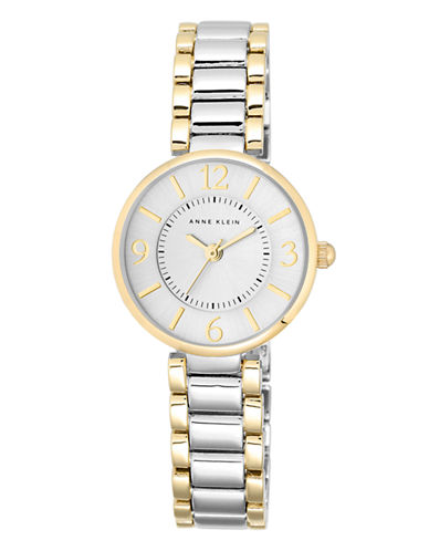 Anne Klein Ladies Two Tone Watch With Link Strap Ak-1871SVTT-TWO TONE-One Size