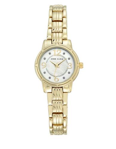 Anne Klein Analog AK-2540MPGB Gold Watch-GOLD-One Size