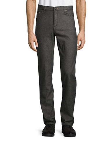 Ted Baker London Five Pocket Pants-GREY-32