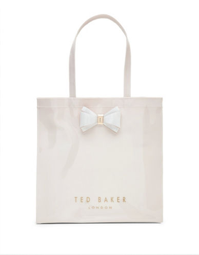 Ted Baker London Alacon Large Icon Shopper Bag-PINK-One Size