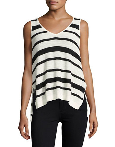 Line Striped Sweater Tank-WHITE-Small 88981398_WHITE_Small